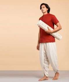 Sambu Straw Diamond Designed Yoga Mat