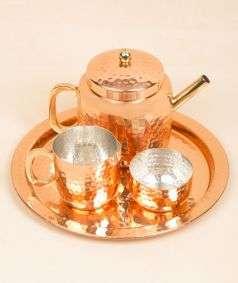 Hammered Tea Set