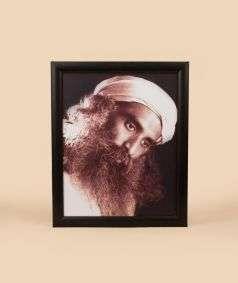 Sadhguru Photo - 8x12 (With Frame)