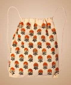 Cotton Backpack Bag-3